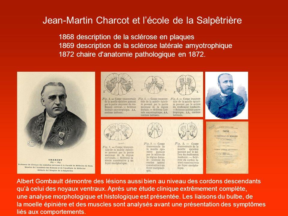 Jean-Martin Charcot et l'école de la Salpêtrière