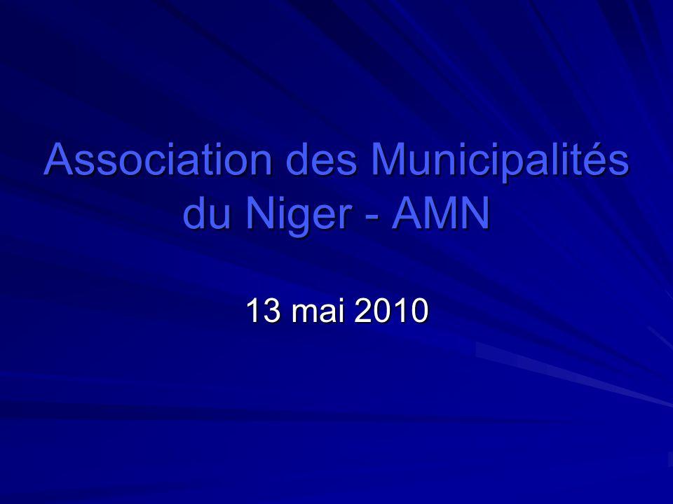 Association des Municipalités du Niger - AMN