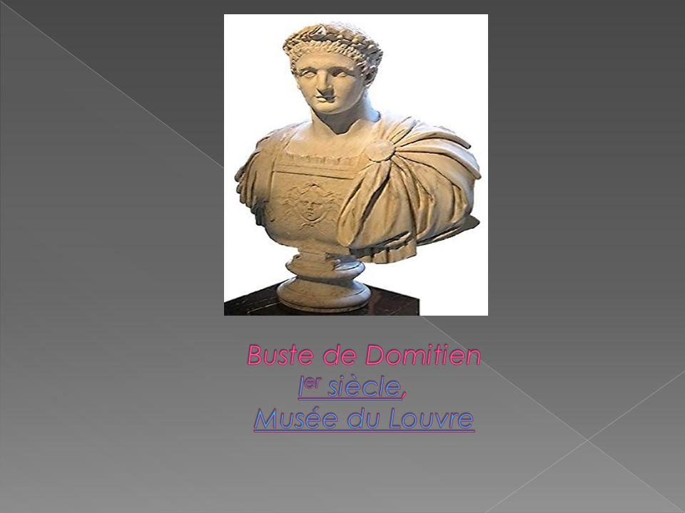 Buste de Domitien Ier siècle, Musée du Louvre