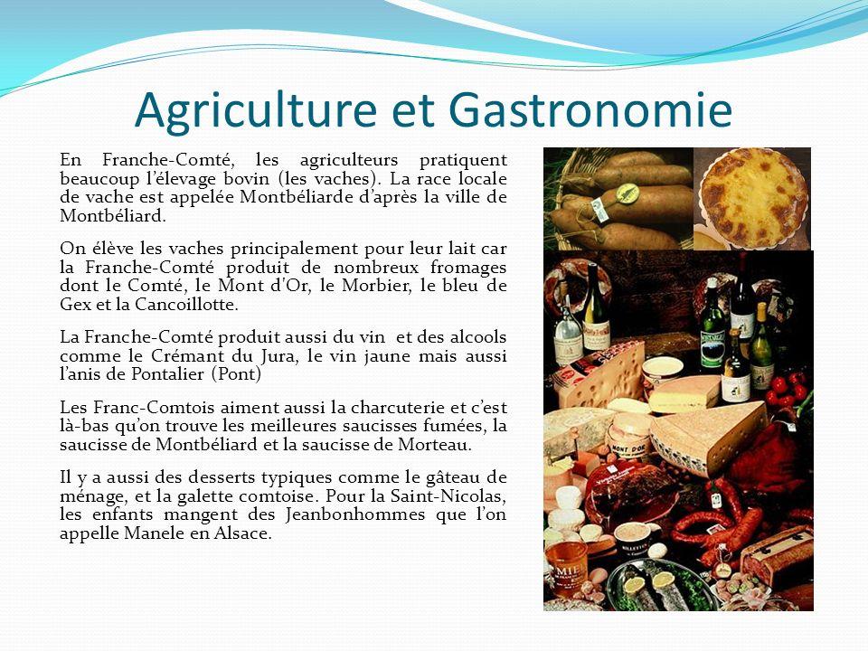 Agriculture et Gastronomie