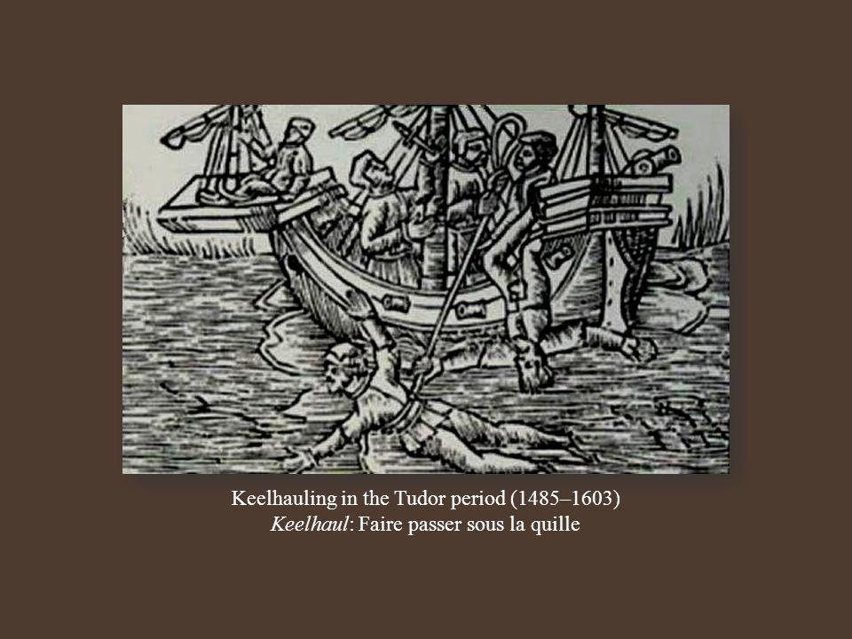 Keelhauling in the Tudor period (1485–1603)