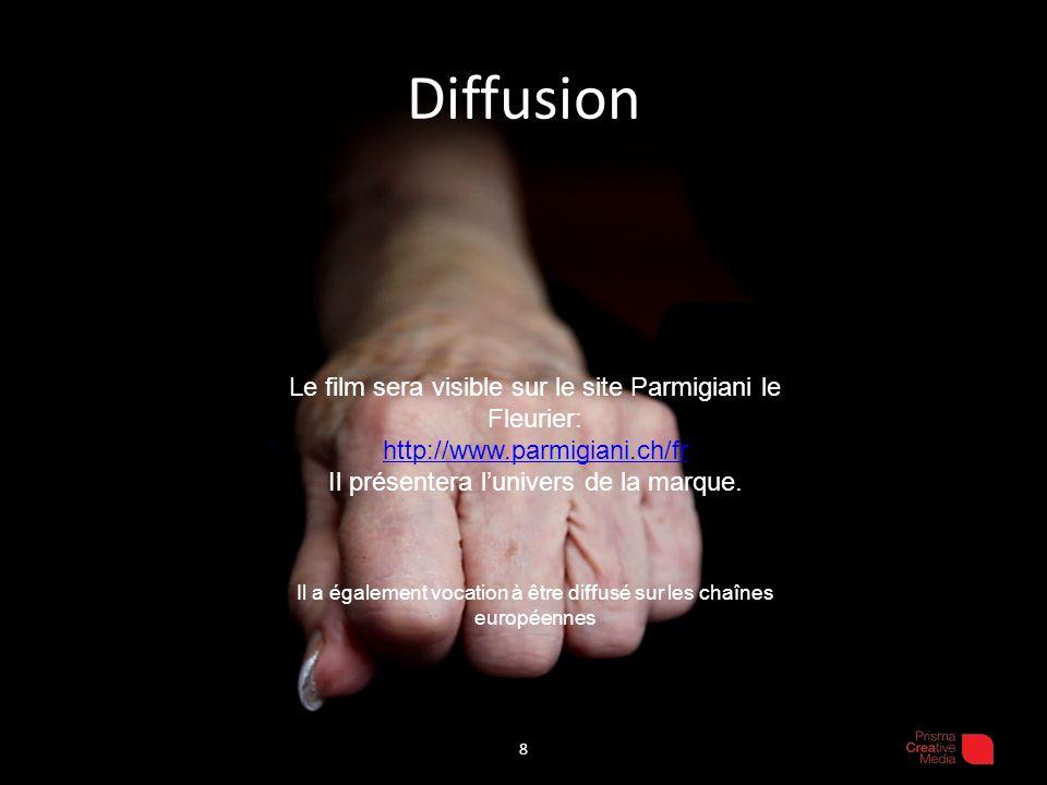 Diffusion Le film sera visible sur le site Parmigiani le Fleurier: