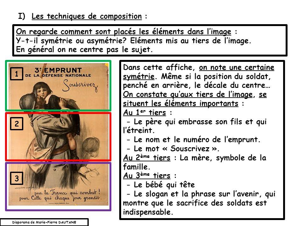 I) Les techniques de composition :