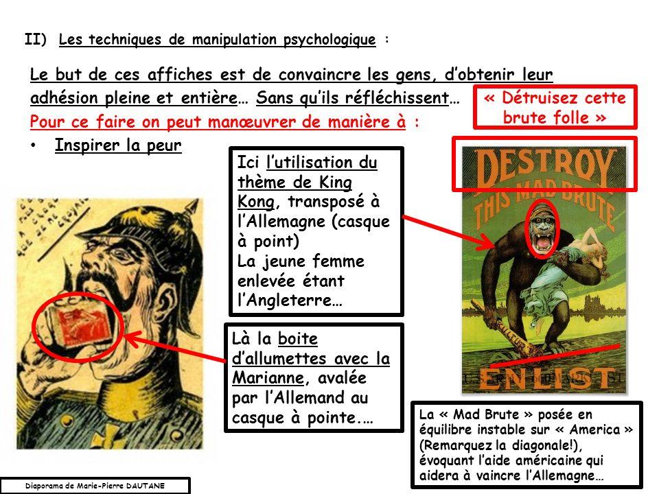 « Détruisez cette brute folle » Diaporama de Marie-Pierre DAUTANE