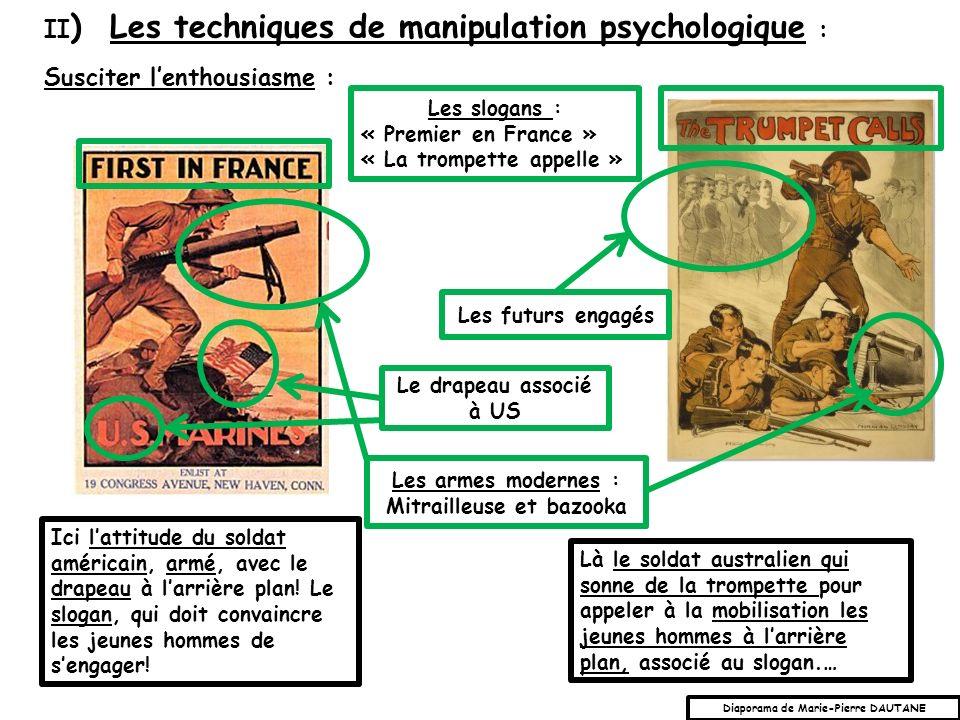 Mitrailleuse et bazooka Diaporama de Marie-Pierre DAUTANE