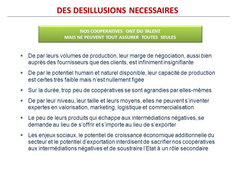 DES DESILLUSIONS NECESSAIRES