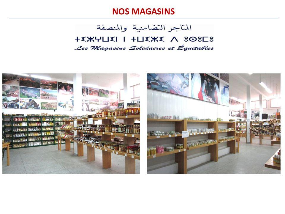 NOS MAGASINS