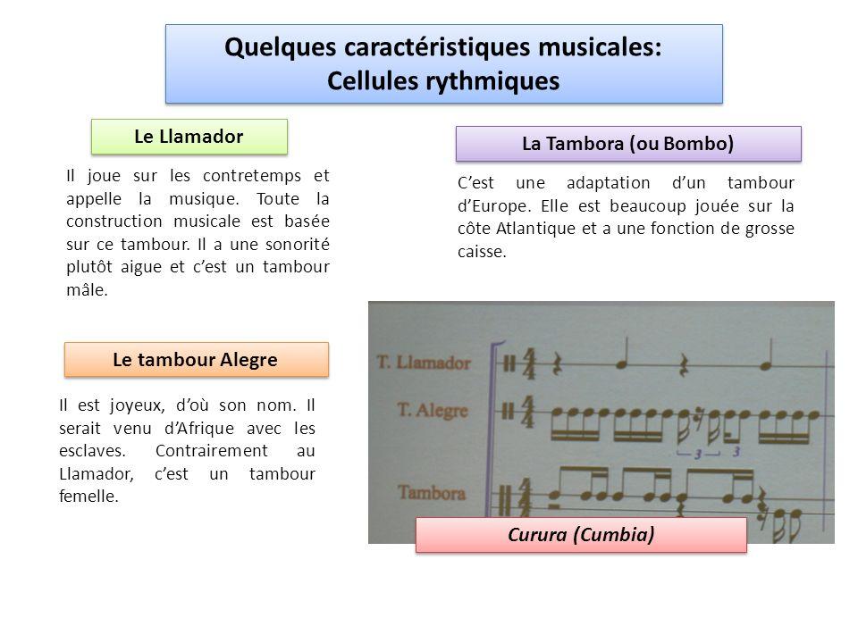 Quelques caractéristiques musicales: