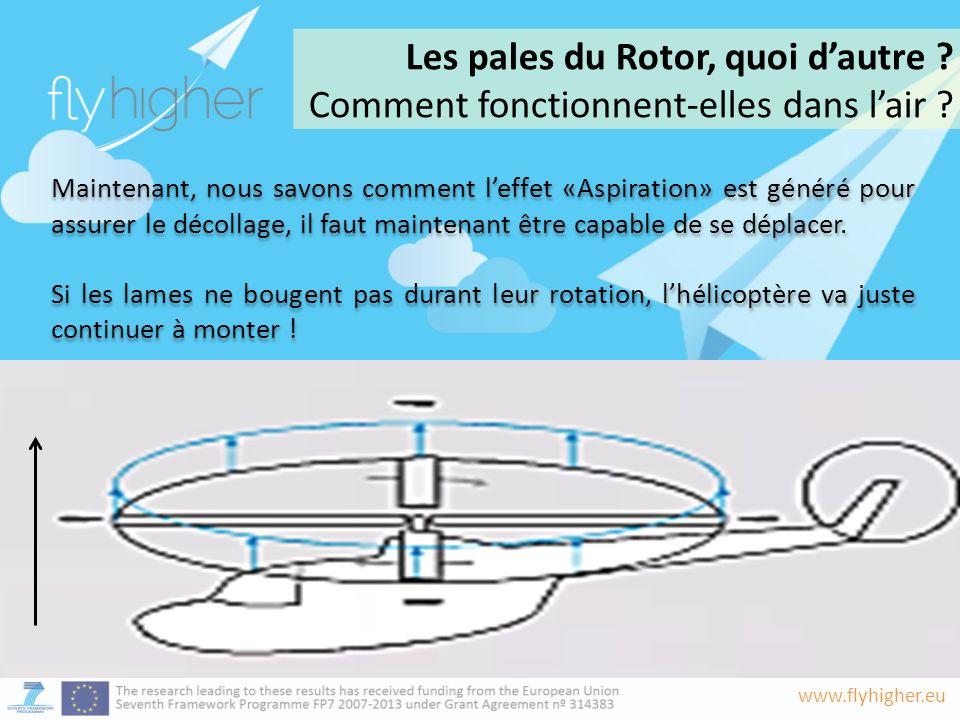 Les pales du Rotor, quoi d'autre
