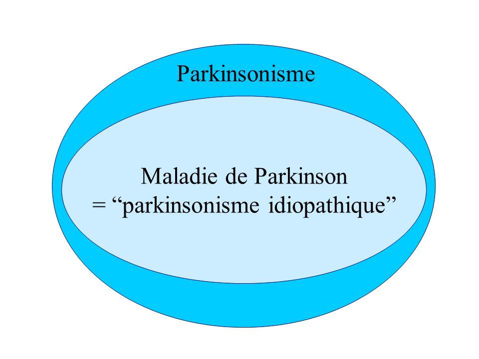 = parkinsonisme idiopathique