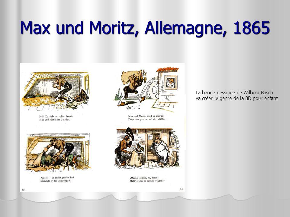 Max und Moritz, Allemagne, 1865