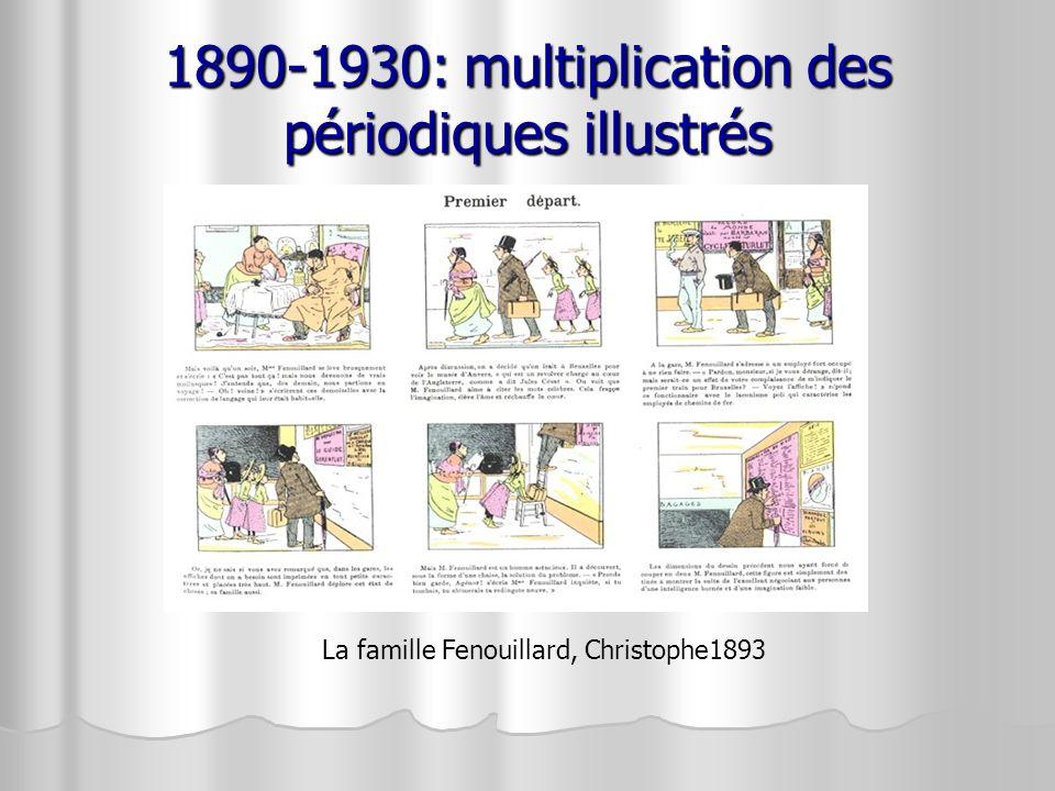 1890-1930: multiplication des périodiques illustrés