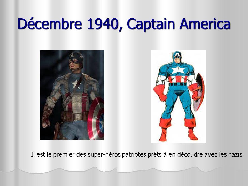 Décembre 1940, Captain America