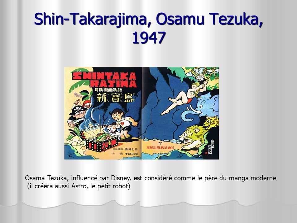 Shin-Takarajima, Osamu Tezuka, 1947