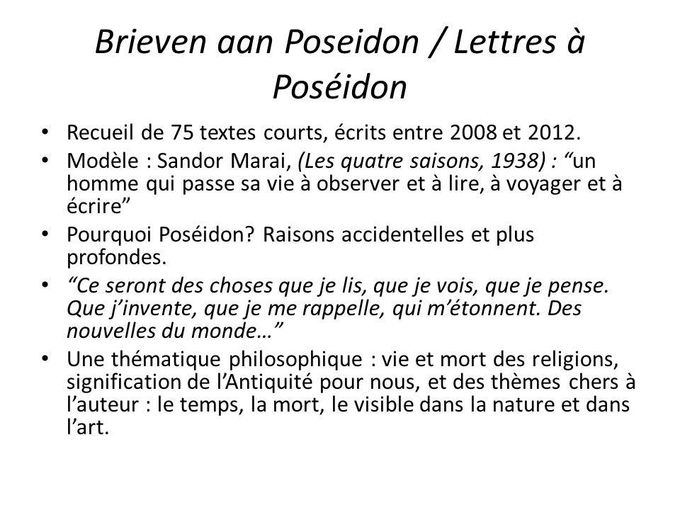 Brieven aan Poseidon / Lettres à Poséidon