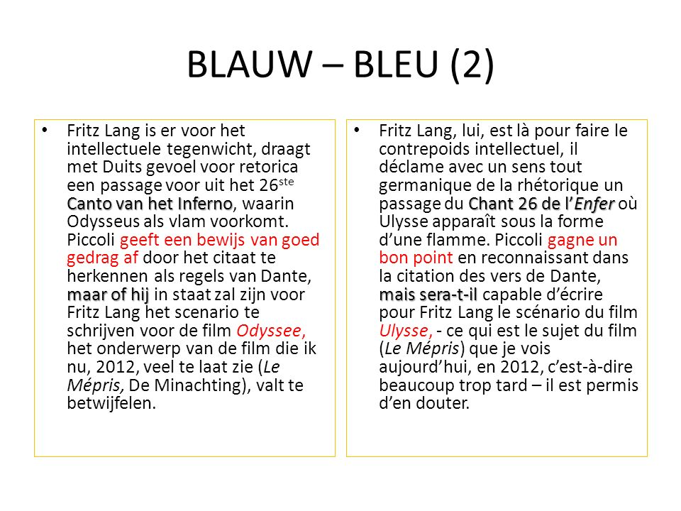 BLAUW – BLEU (2)