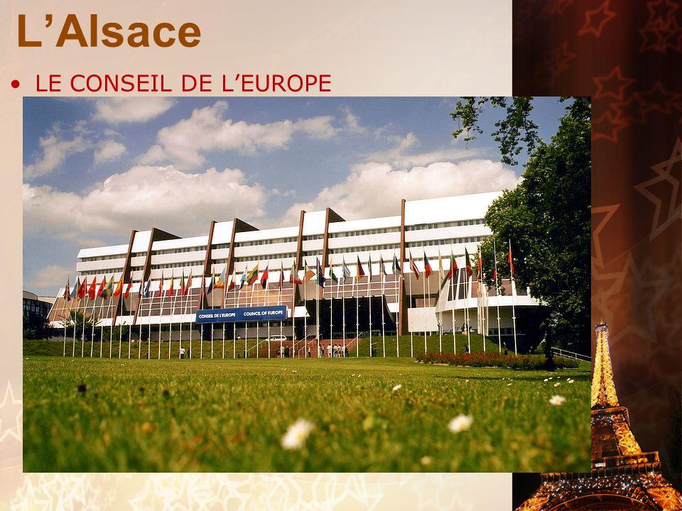 L'Alsace LE CONSEIL DE L'EUROPE