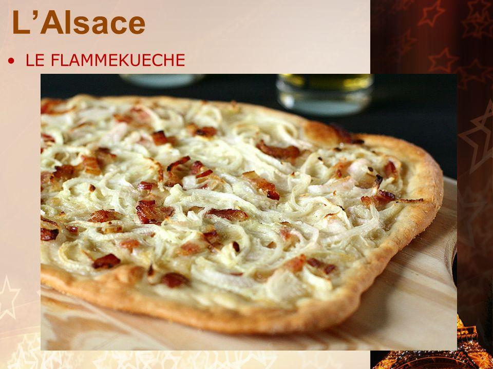 L'Alsace LE FLAMMEKUECHE