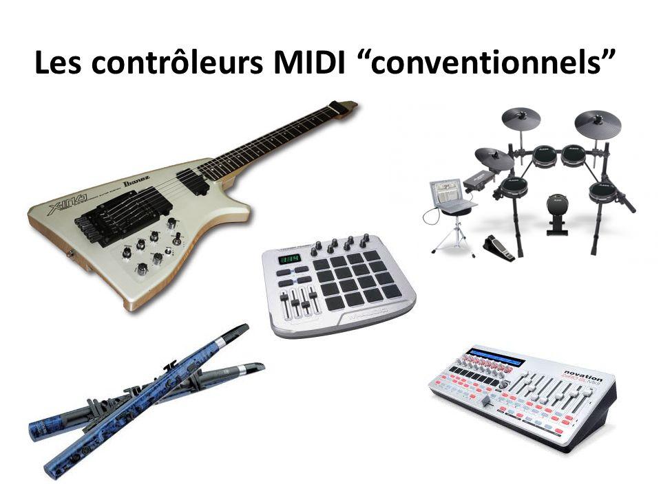 Les contrôleurs MIDI conventionnels