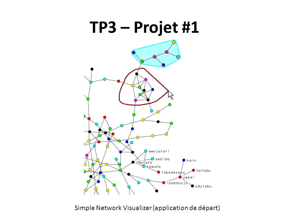 TP3 – Projet #1 Simple Network Visualizer (application de départ)