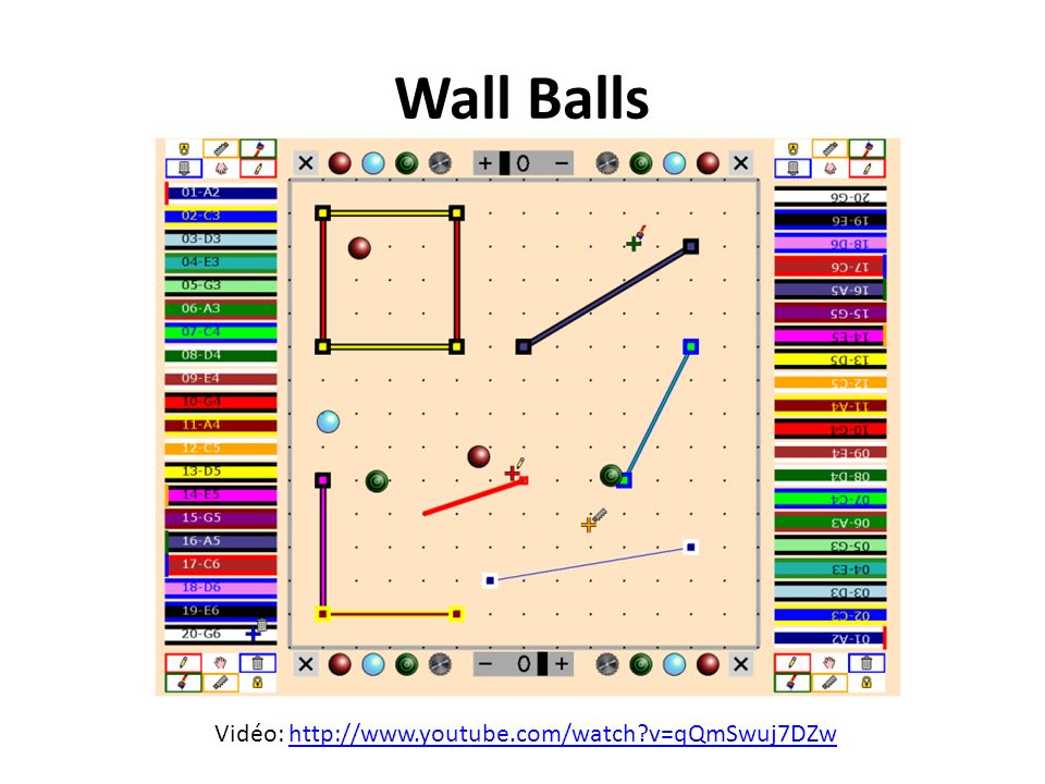 Wall Balls Vidéo: http://www.youtube.com/watch v=qQmSwuj7DZw