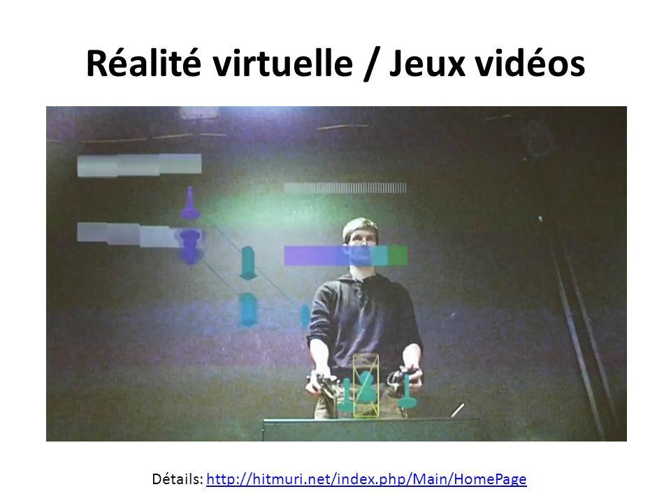 Réalité virtuelle / Jeux vidéos