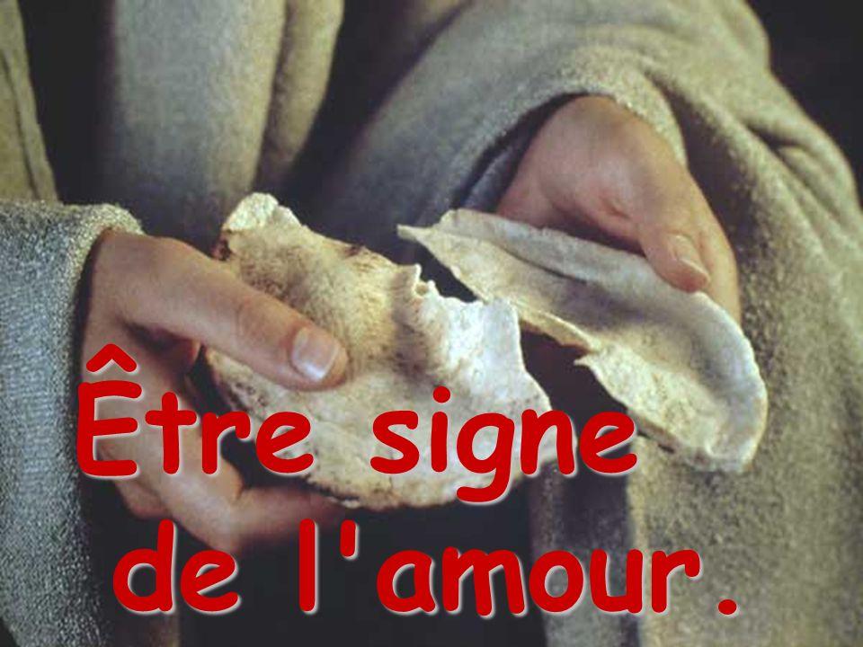 Être signe de l amour.