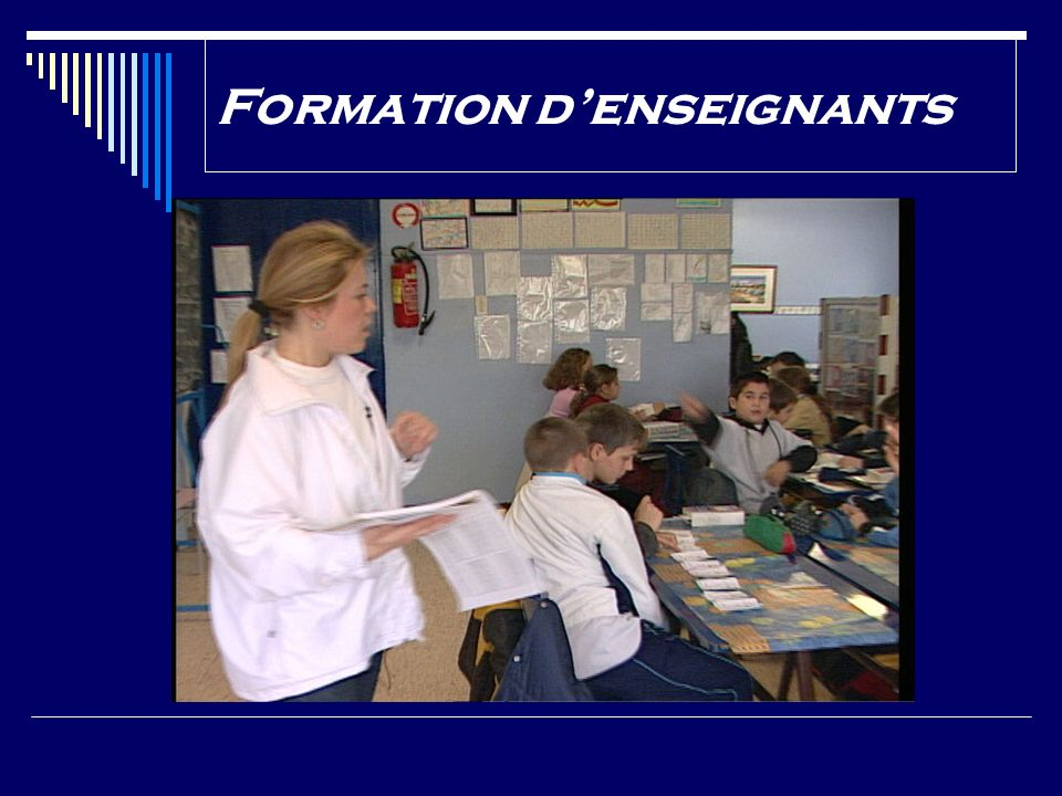 Formation d'enseignants