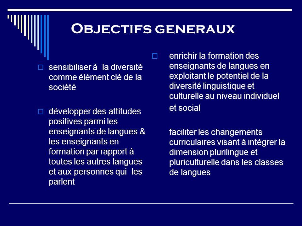 Objectifs generaux