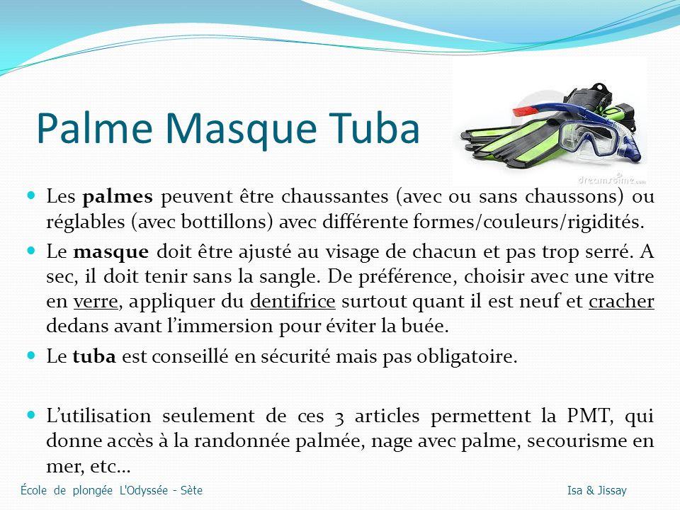 Palme Masque Tuba