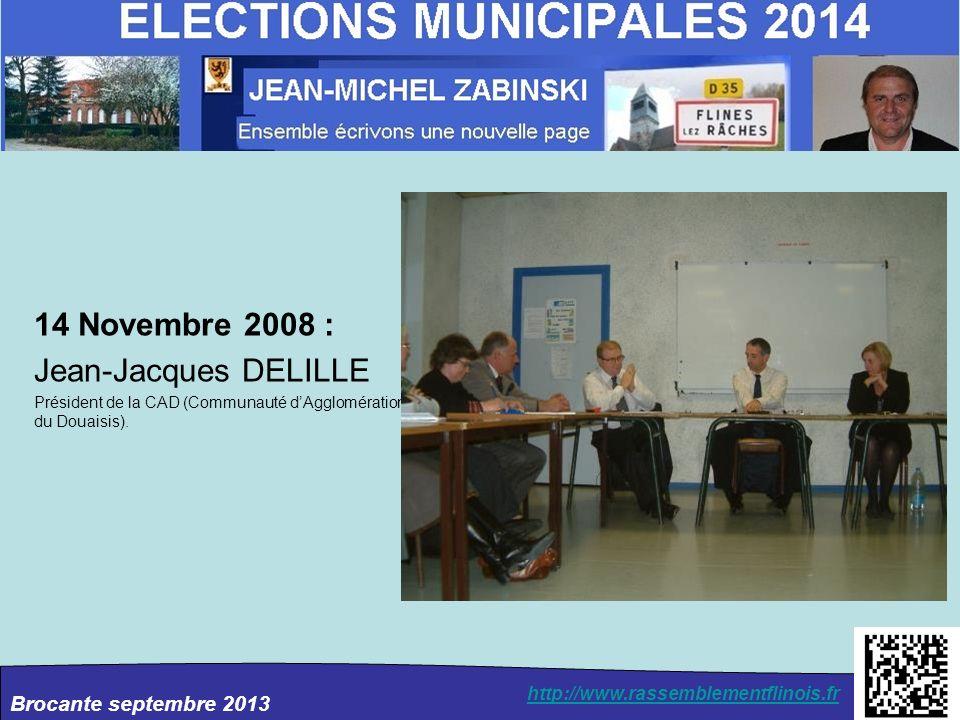 14 Novembre 2008 : Jean-Jacques DELILLE