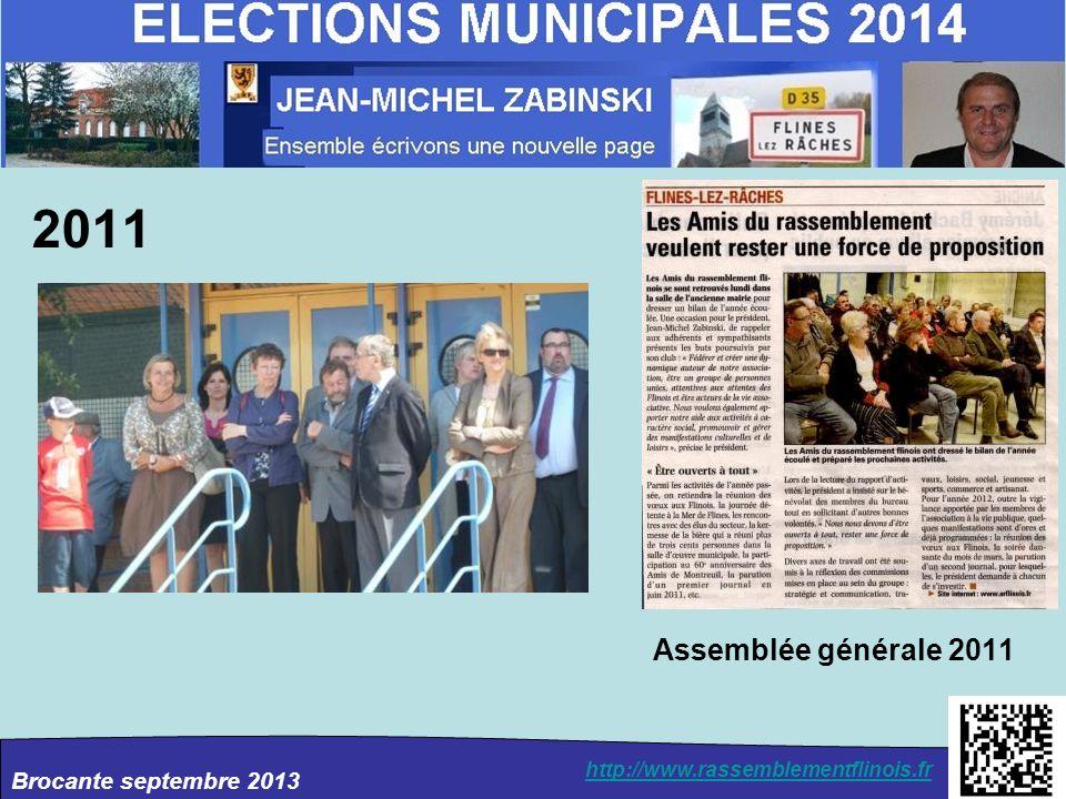 2011 Assemblée générale 2011