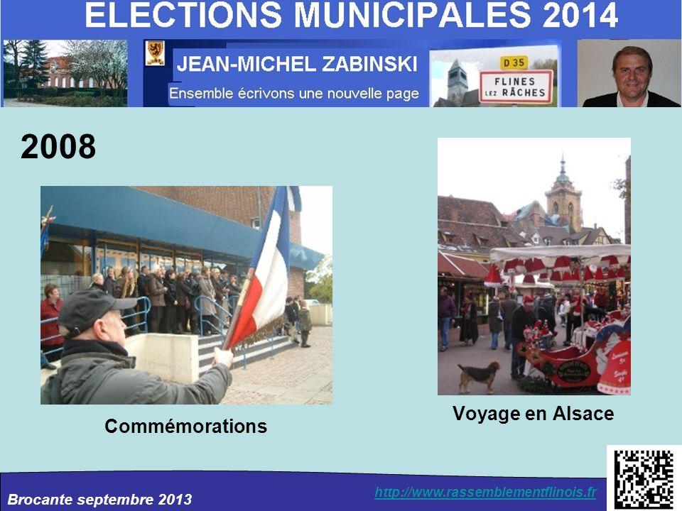 2008 Voyage en Alsace Commémorations
