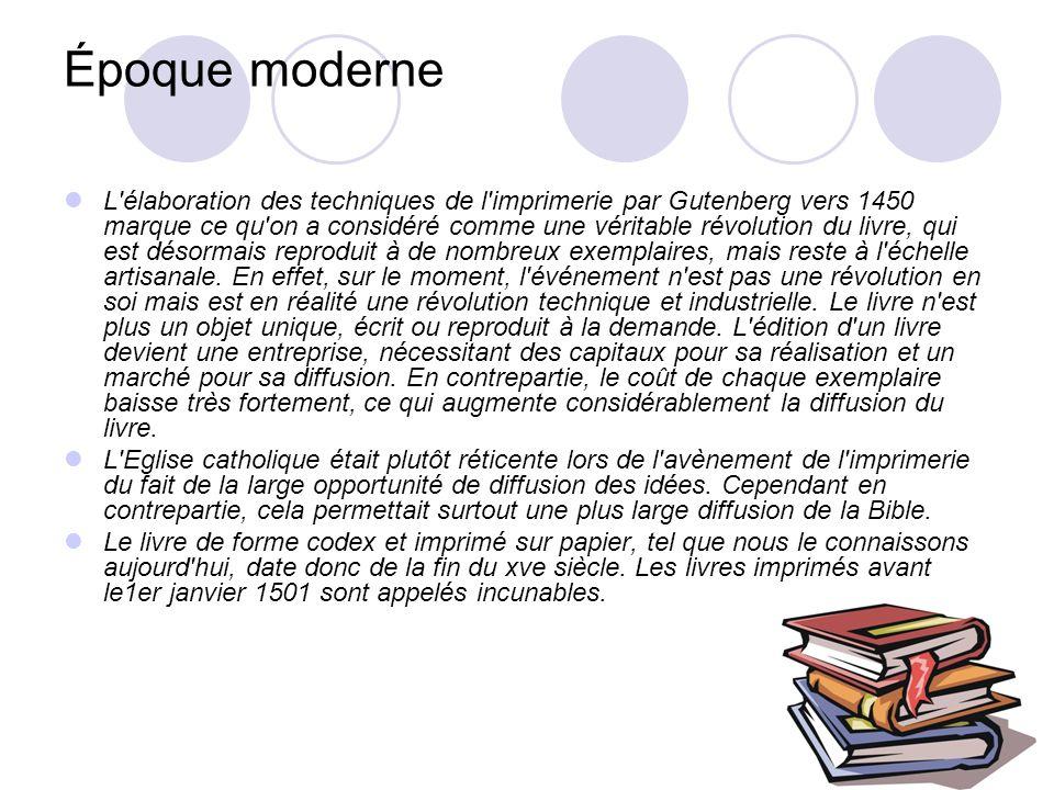 Époque moderne