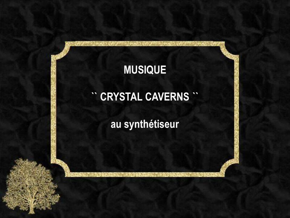 MUSIQUE `` CRYSTAL CAVERNS `` au synthétiseur