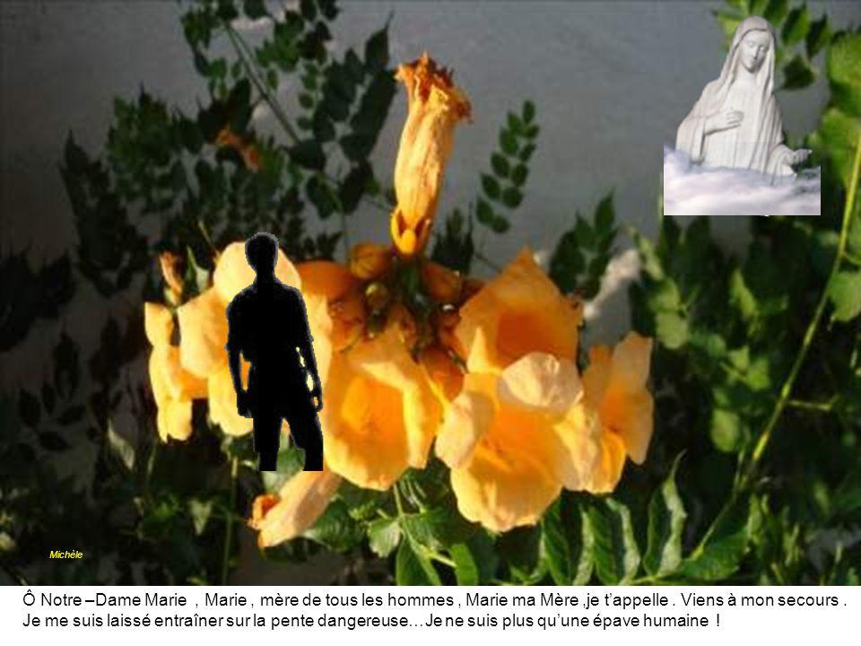 Michèle Ô Notre –Dame Marie , Marie , mère de tous les hommes , Marie ma Mère ,je t'appelle . Viens à mon secours .