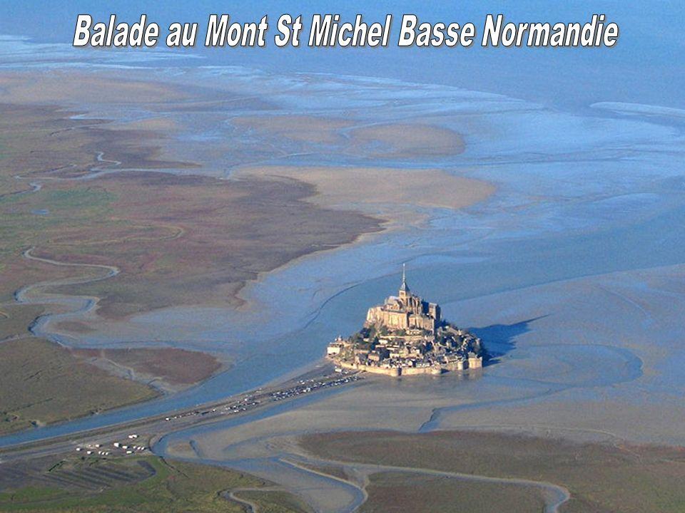 Balade au Mont St Michel Basse Normandie