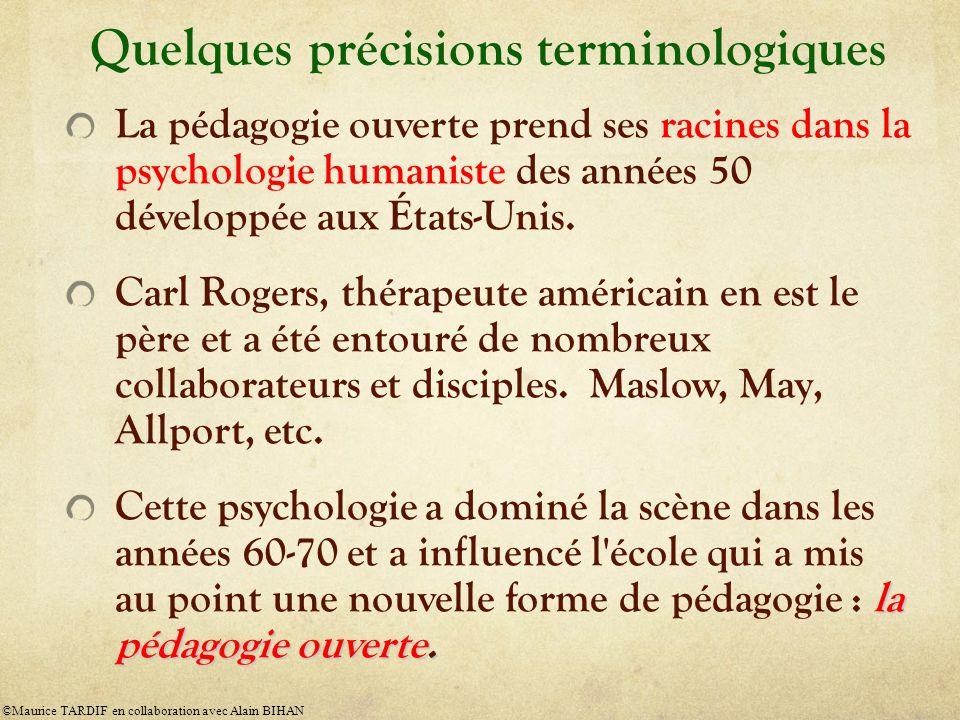 Quelques précisions terminologiques