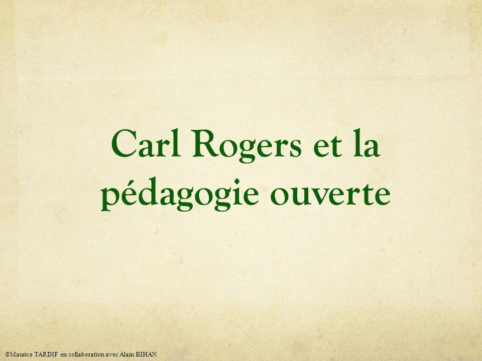 Carl Rogers et la pédagogie ouverte