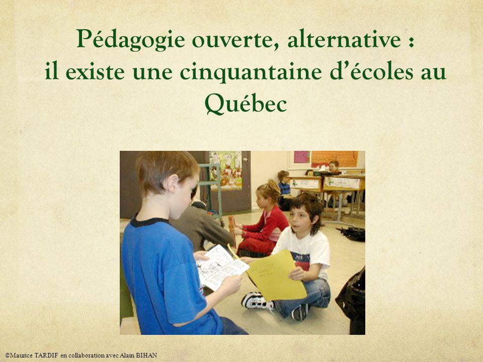 Pédagogie ouverte, alternative : il existe une cinquantaine d'écoles au Québec