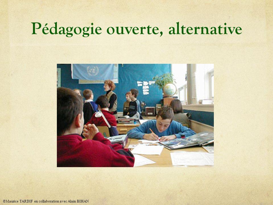 Pédagogie ouverte, alternative