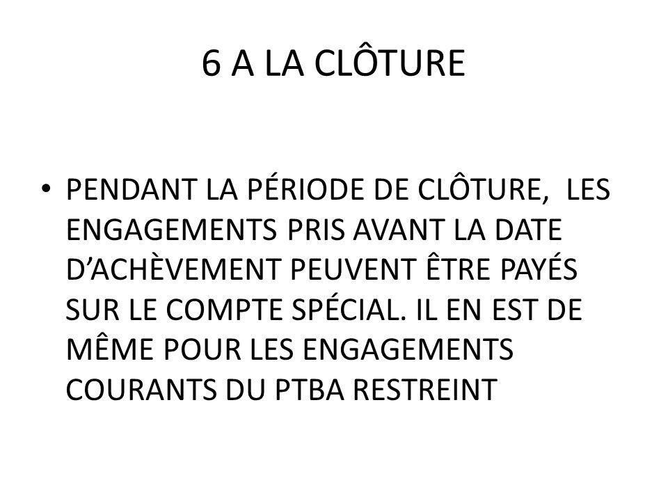 6 A LA CLÔTURE