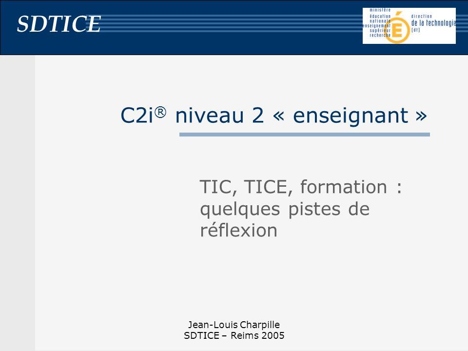 C2i® niveau 2 « enseignant »