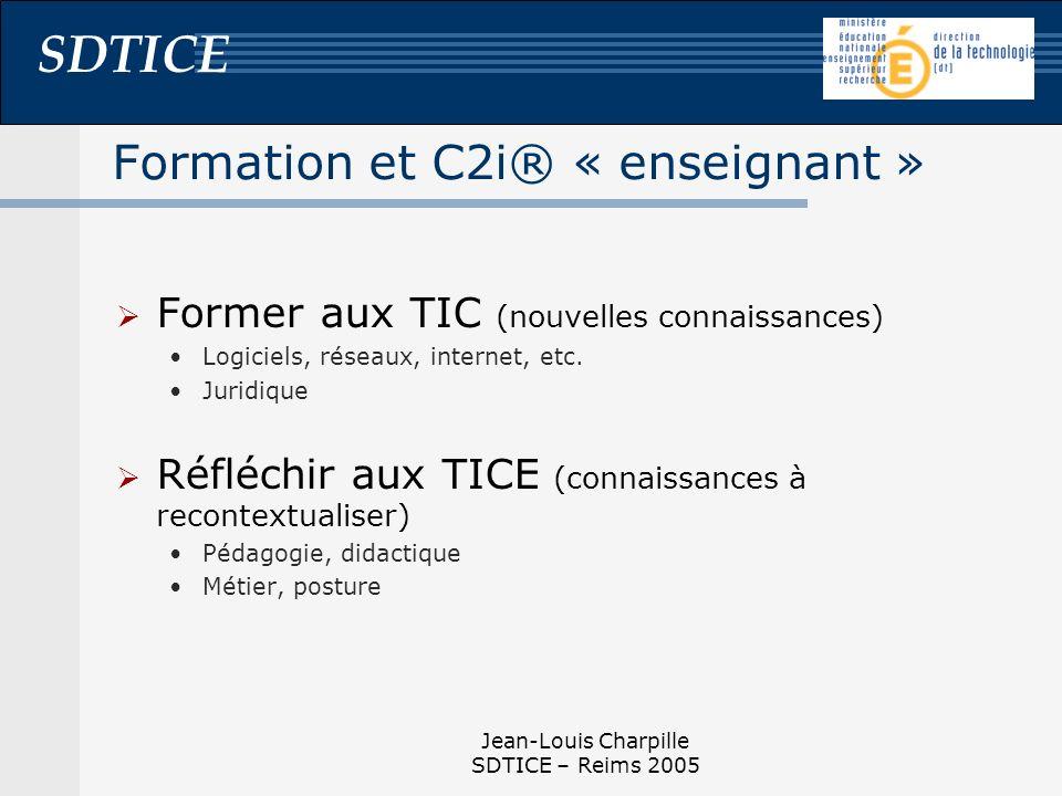 Formation et C2i® « enseignant »