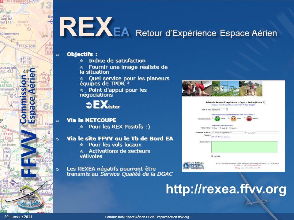 REXEA Retour d'Expérience Espace Aérien