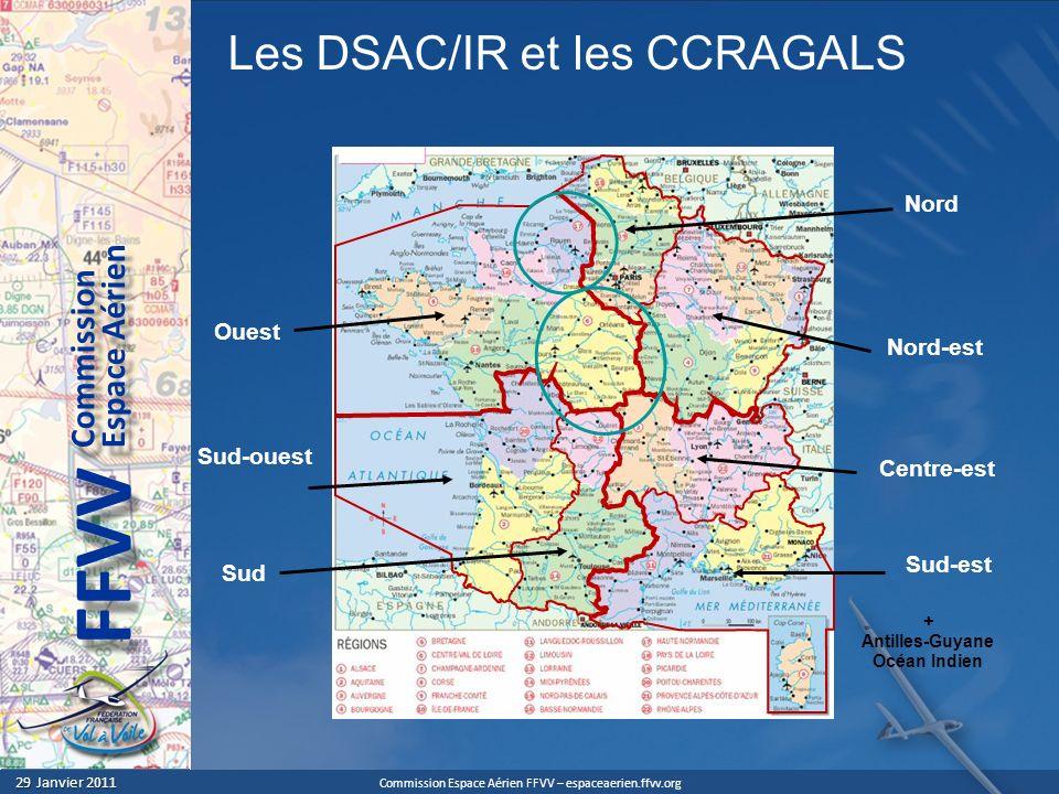 Les DSAC/IR et les CCRAGALS