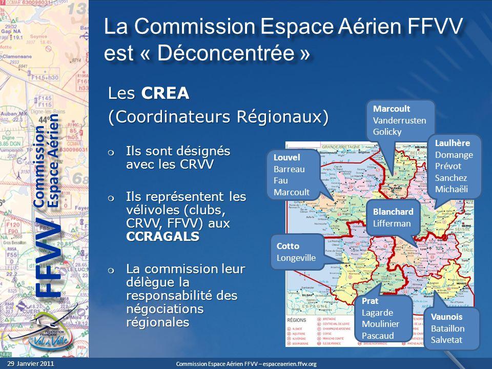 La Commission Espace Aérien FFVV est « Déconcentrée »
