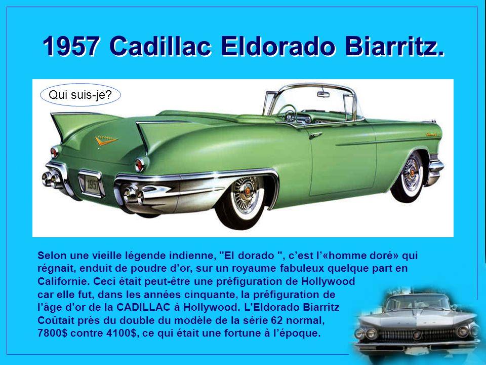 1957 Cadillac Eldorado Biarritz.