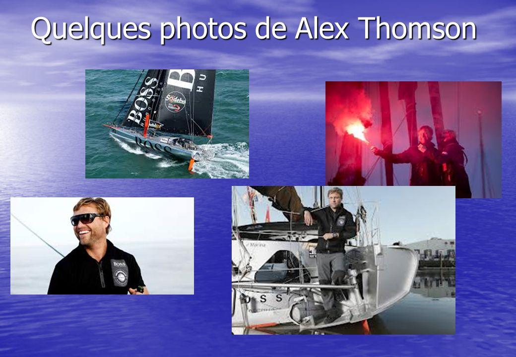 Quelques photos de Alex Thomson