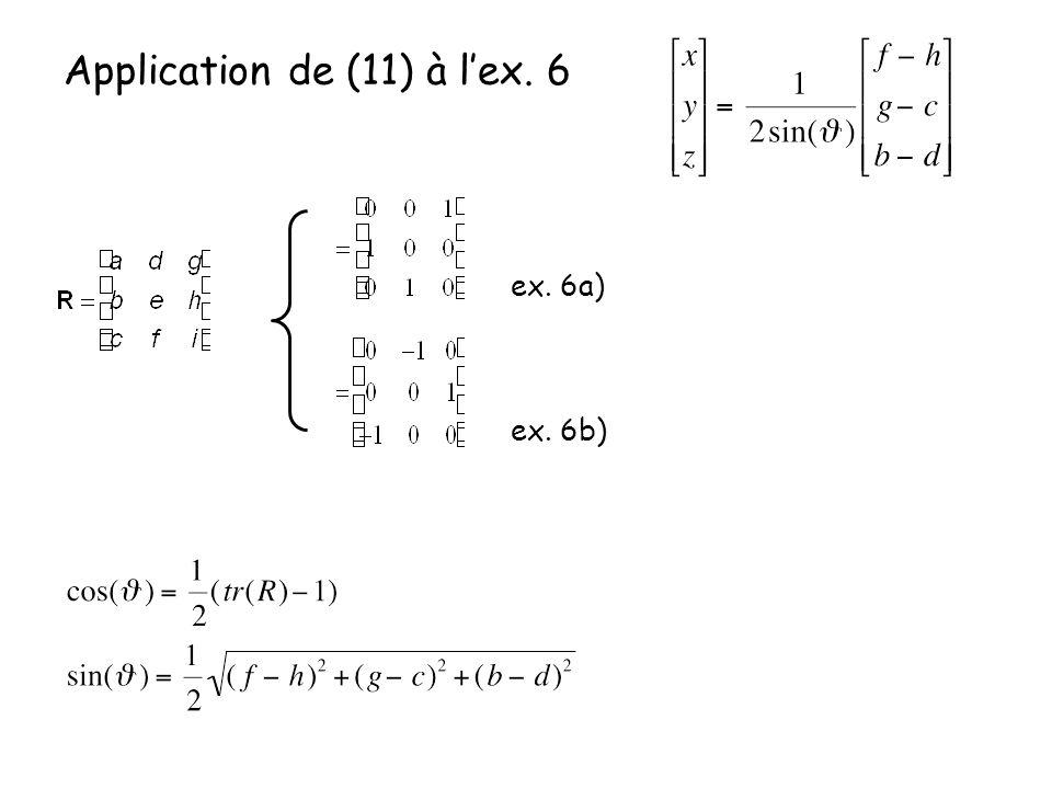 Application de (11) à l'ex. 6